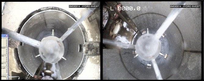 Inspection vidéo de forage