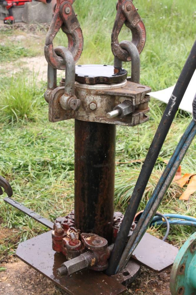 démontage colonne pompe